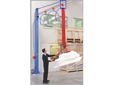 Freestanding and wall mounted jib cranes are ideal for repetive work station applications