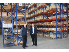 Bonfiglioli NZ's Gerard Cornes, Internal Sales and Logistics, with NZ National Sales Manager, Neil Pollington, amidst expanding stocking in New Zealand