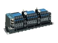 The modular V15 plug-in valve.