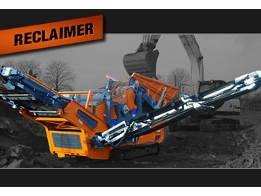 Heavy duty Reclaimer for demanding industrial applications