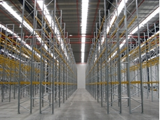 Superbuild pallet racking systems are suitable for medium to heavy duty pallet storage