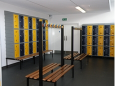 Plastic lockers from Bowen Group can be customised with a range of aesthetic and functional options