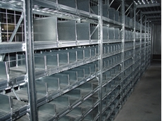 Mezzanine floors utilise standard pallet racking components, making them easy to dismantle, relocate and upgrade
