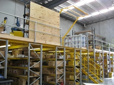 Mezzanine floors can assist in maximising storage space in warehouses
