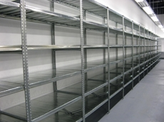 Long span shelving systems from Bowen Group offer quality at an economical price