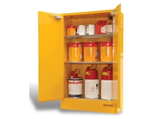 SC250 dangerous goods cabinets have a maximum capacity of 250 litres