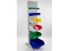 Bowen Group's storage bin racks are ideal for storing small parts right through to bulky items