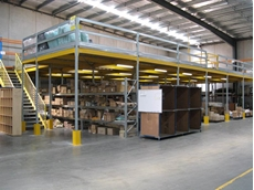 Raised Storage, Mezzanine Flooring and Staircases