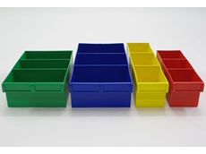 Bowen's coloured storage bins are available in a variety of sizes, making them ideal for storing a wide range of items