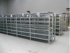 Super 1-2-3 Series modular long span shelving systems