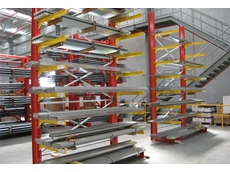 Unicant cantilever racking is an economical solution for storing long items