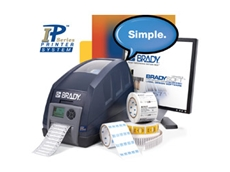 Brady Australia Thermal Printers are easy to load.