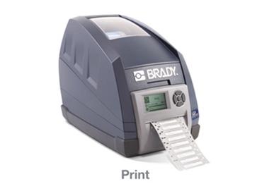 The Brady Australia Thermal Printers monitor ribbon usage