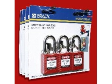 Brady lockout Safety Plus Padlocks.