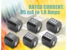 Wirewound, surface-mount inductors