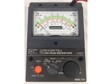Kyoritsu 3124 0-10KV IR Tester
