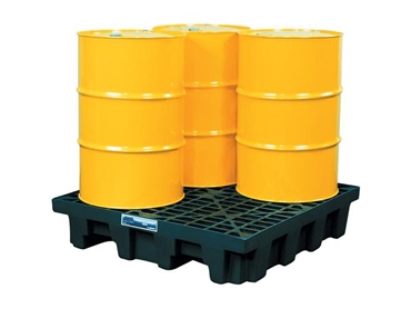 Spill Control Pallets designed for easy use with forklifts