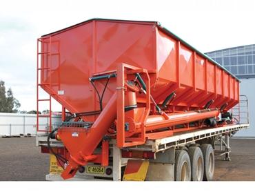 8t per minute unload capacity