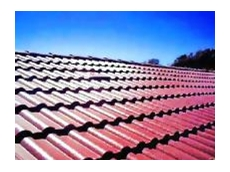 Self-venting roof tiles