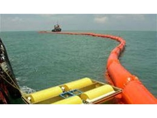 Magnum 200 oil recovery skimmers can be deployed from boats for marine spills