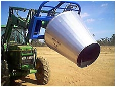 Bull Mixa self loading concrete mixer buckets