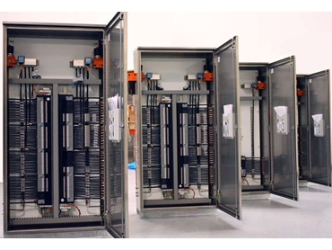Control Panel Systems built by Burkert's team of process control experts