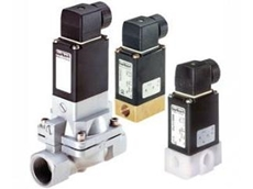 Burkert Solenoid Valves with high flow rates of neutral gases and liquids