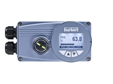 Burkert's new digital positioners with no air bleed at rest