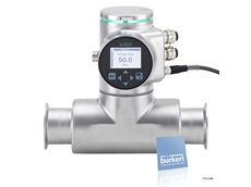 FLOWave SAW flowmeter designed for applications with the highest hygienic demands