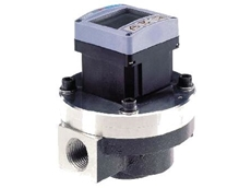 Flow meters for viscous fluid control