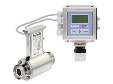 Full bore magmeter for easy process control