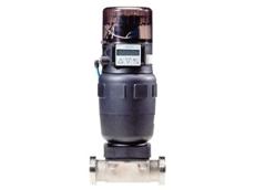 Burkert's new control valve.