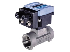 Inline digital flow transmitters