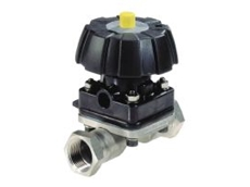 Isolating diaphragm valves