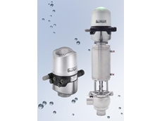 Process valve control heads from Burkert Fluid Control Systems