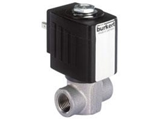 Type 6240 solenoid valves available from Burkert Fluid Control Systems