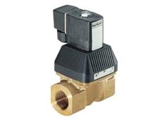 Waterhammer-free solenoid valves