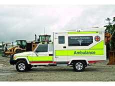 Mining emergency response vehicles
