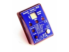 The T7119 socket tester/RCD.