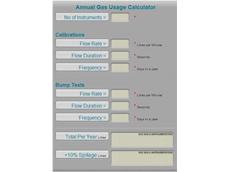 The CAC Gas & Instrumentation gas calculator