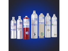 Calibration gas cylinders for gas detection applications