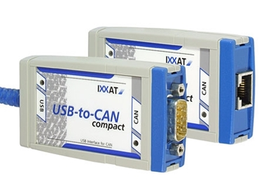IXXAT USB interface to CAN