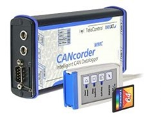 IXXAT CANcorder MMC Data Loggers from Can + Automotion