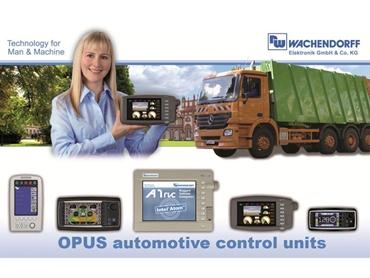 OPUS automotive control units