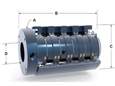 High performance Multiple Passage Rotary Union