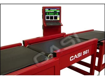 Precision CASI 961 high accuracy in-motion scale Checkweigher for distribution efficiency