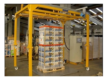 Accuracy and  ease with CubiScan 1200 for difficult static and conveyor pallet Cubing requirements