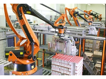Easy to use End of Line Robotic Palletisers offer flexible reliability for a number of materials