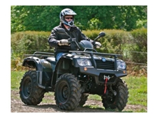 The new and improved 2012 CF500 ATV model can go for hours