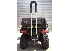 Quadbar will be offered as an optional safety device on CF Moto quad bikes